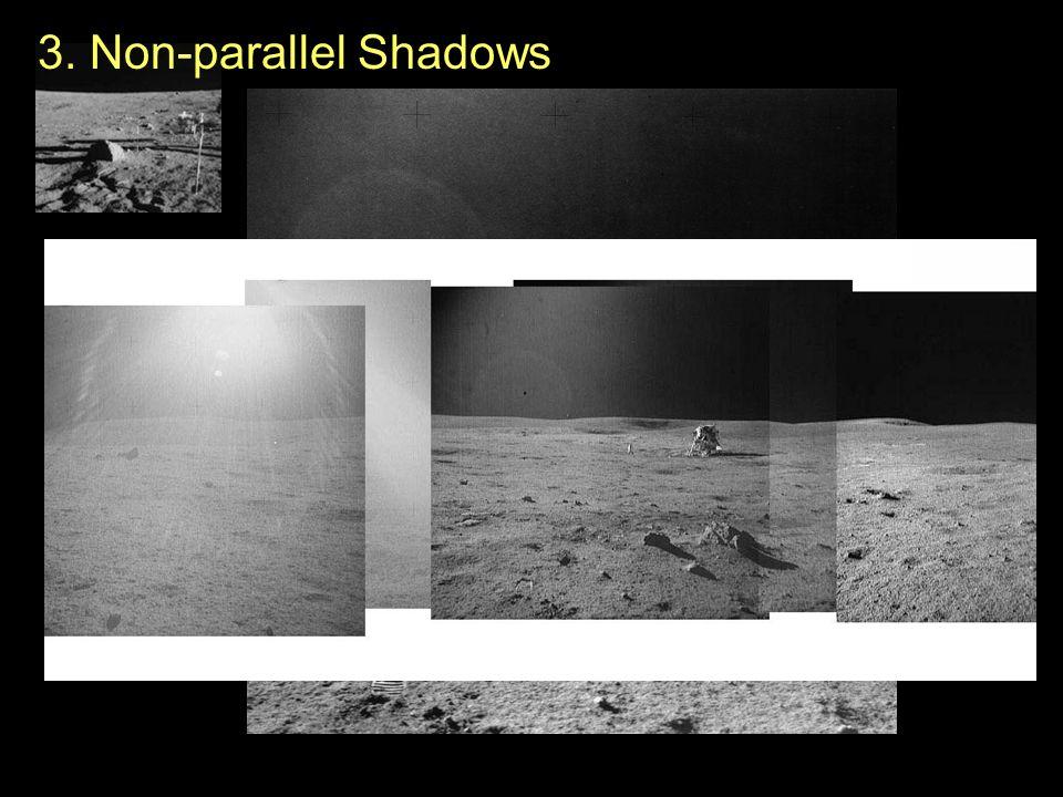 3. Non-parallel Shadows