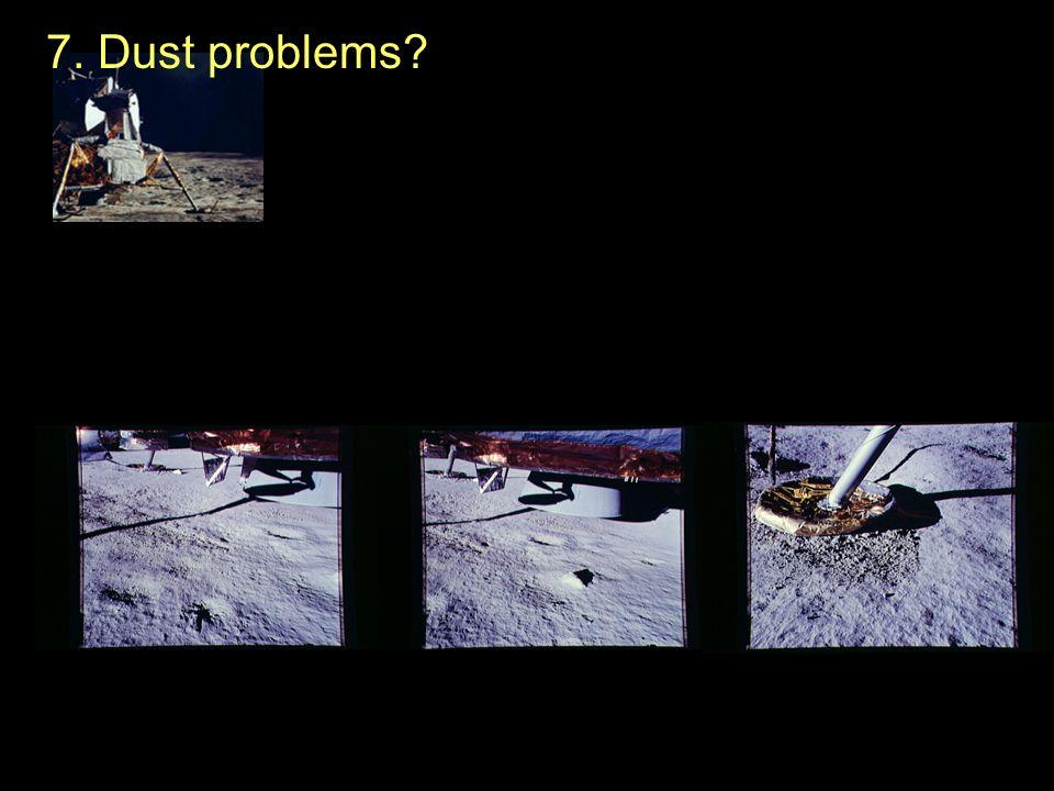 7. Dust problems?