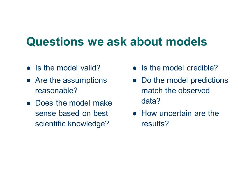 Uncertainty (in variables, models, parameters, data) what are uncertainty and sensitivity analyses.