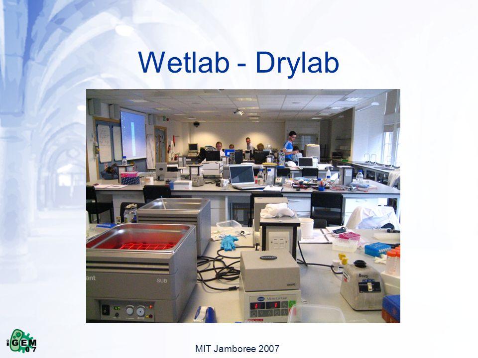 MIT Jamboree 2007 Wetlab - Drylab