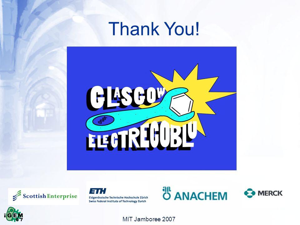 MIT Jamboree 2007 Thank You!