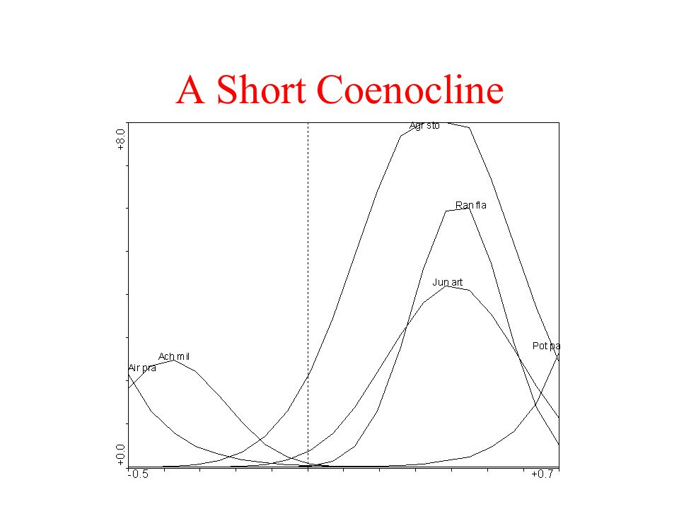 A Short Coenocline