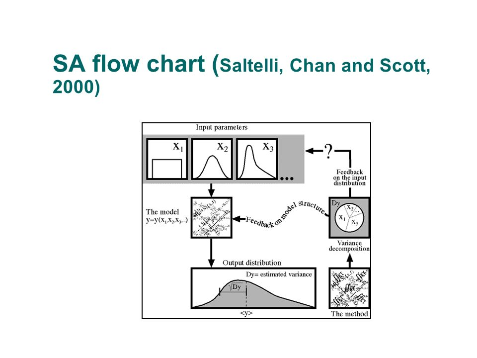 SA flow chart ( Saltelli, Chan and Scott, 2000)
