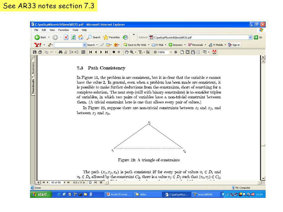 See AR33 notes section 7.3