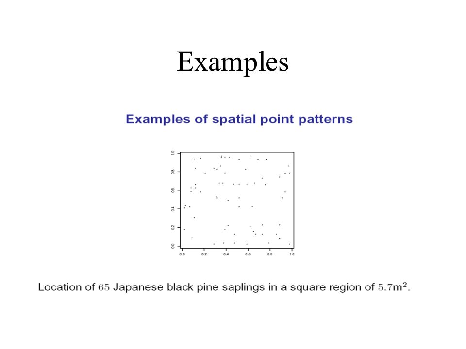 The problem of geostatistics Given observations at n sites Z(u 1 ),…, Z(u n ) How best to draw a map.