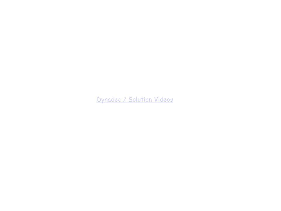 Dynadec / Solution Videos