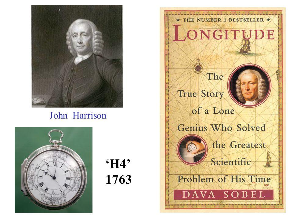 John Harrison H4 1763