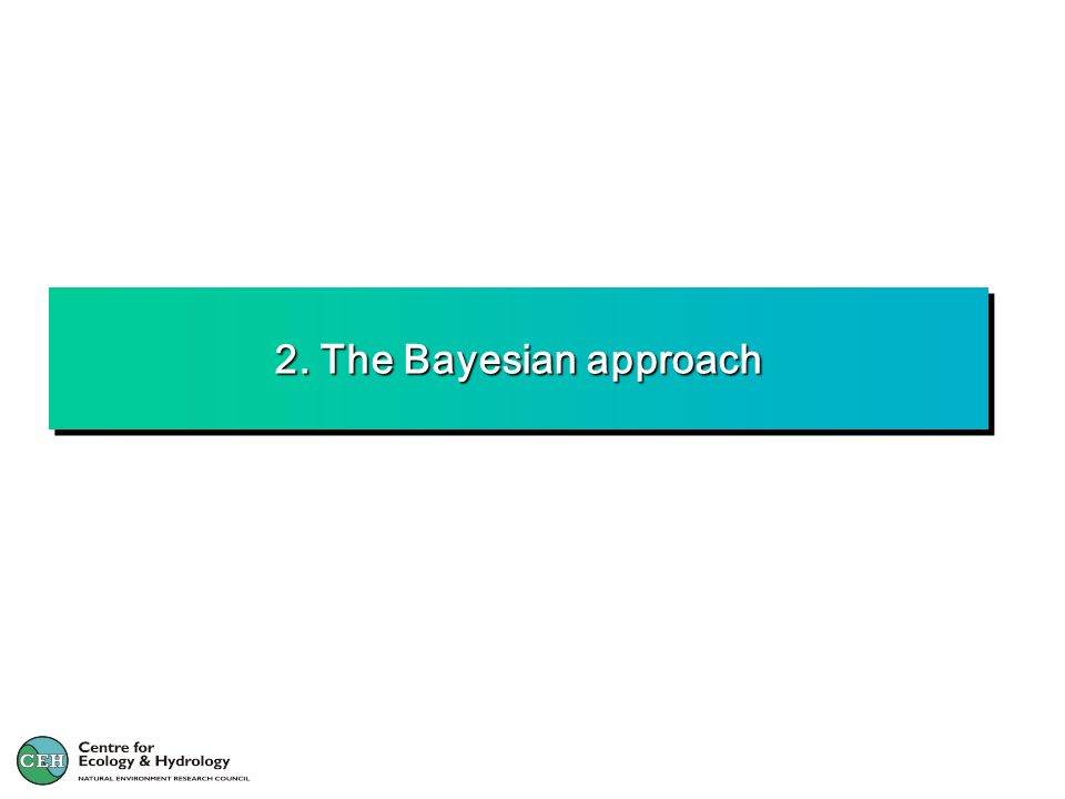 2. The Bayesian approach