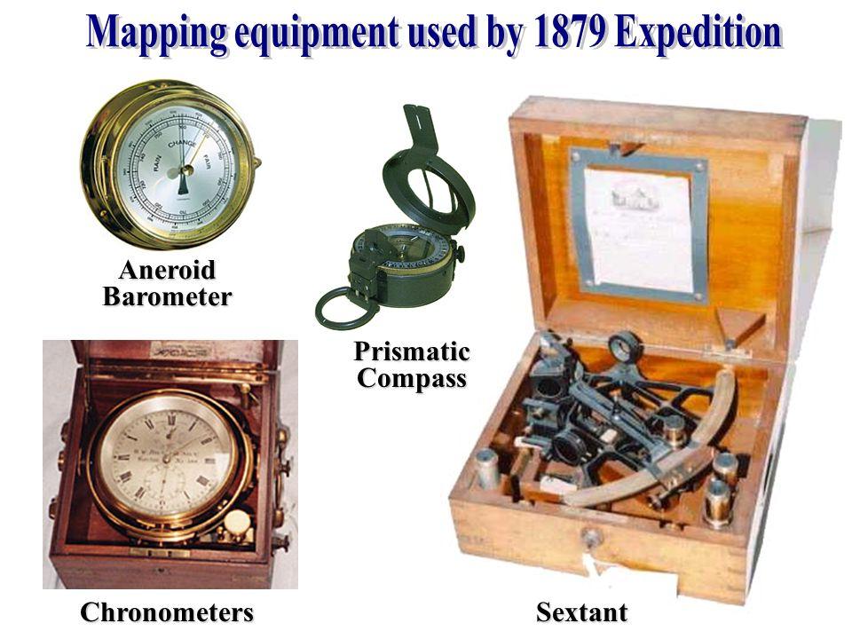 ChronometersSextant AneroidBarometer PrismaticCompass