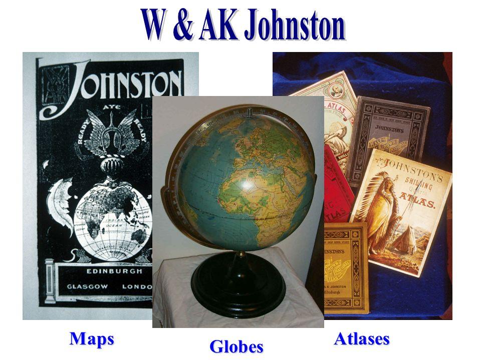 MapsAtlases Globes
