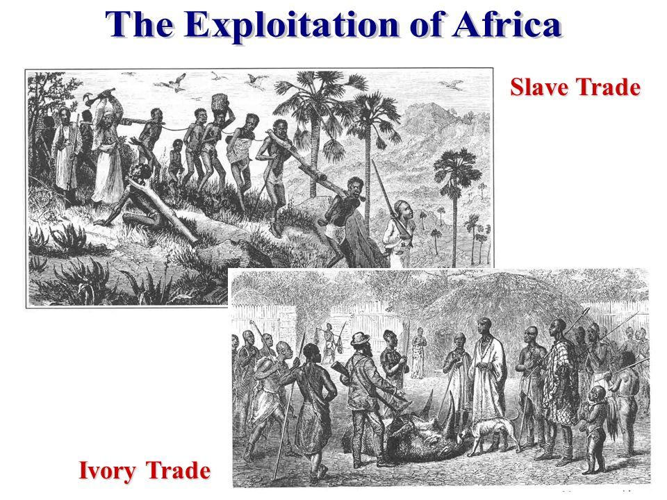 Slave Trade Ivory Trade
