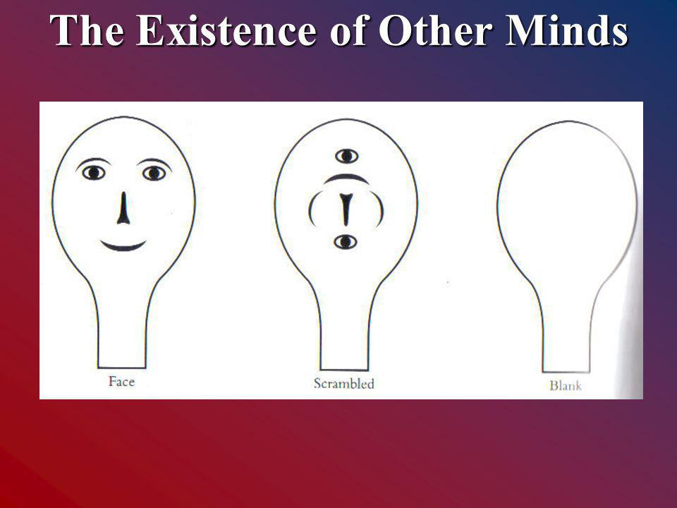 The Existence of Other Minds