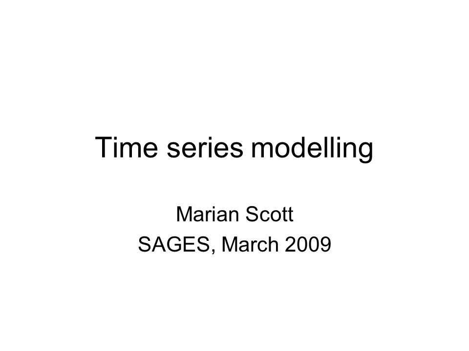 Seasonal patterns (cycles) in many environmental times series, we could imagine some periodicity (e.g.