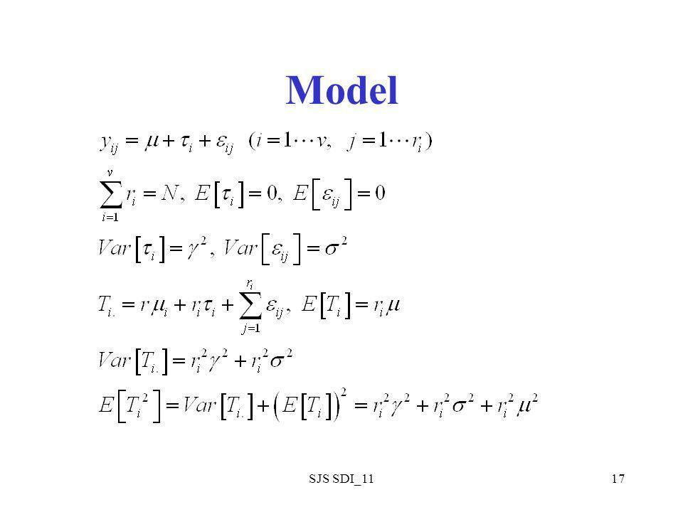 SJS SDI_1117 Model