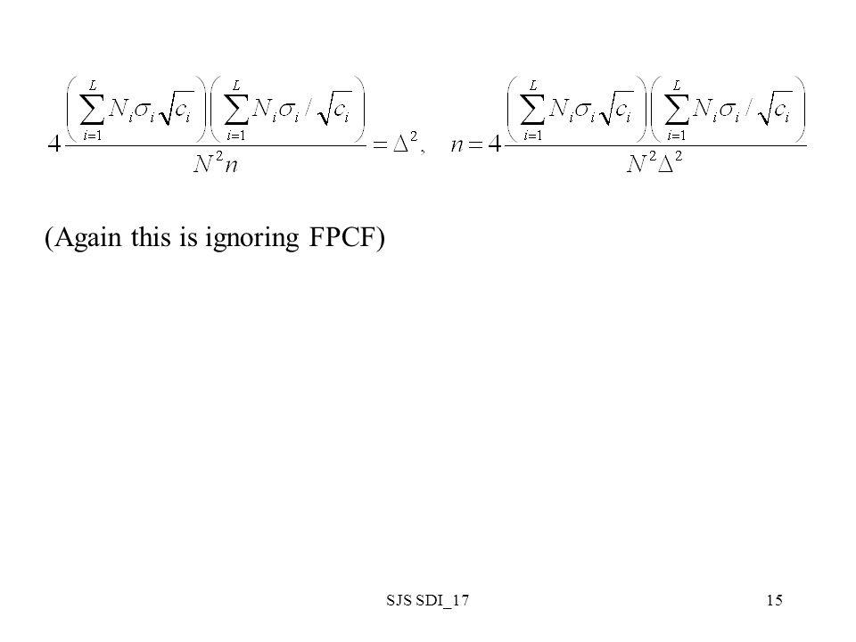 SJS SDI_1715 (Again this is ignoring FPCF)