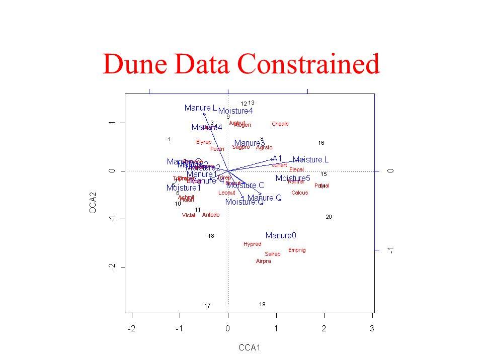 Dune Data Constrained