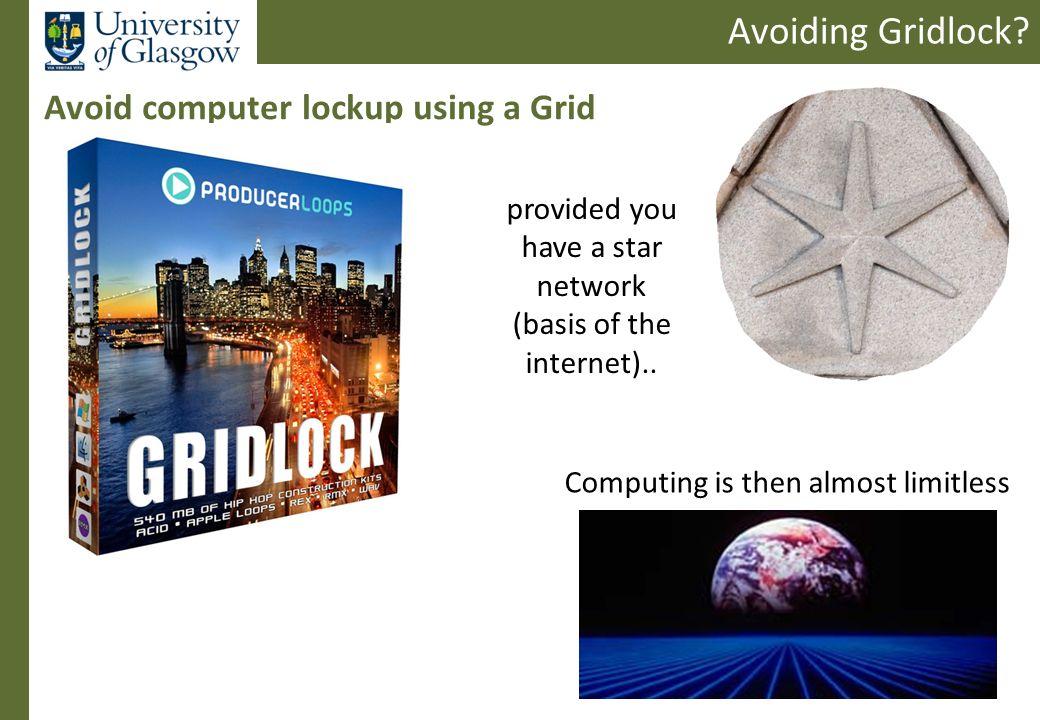 Avoiding Gridlock.