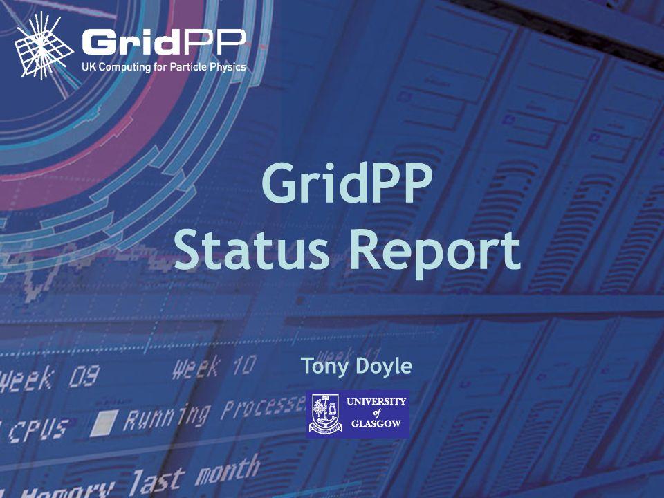 Tony Doyle - University of Glasgow 3 February 2005Science Committee Meeting GridPP Status Report Tony Doyle