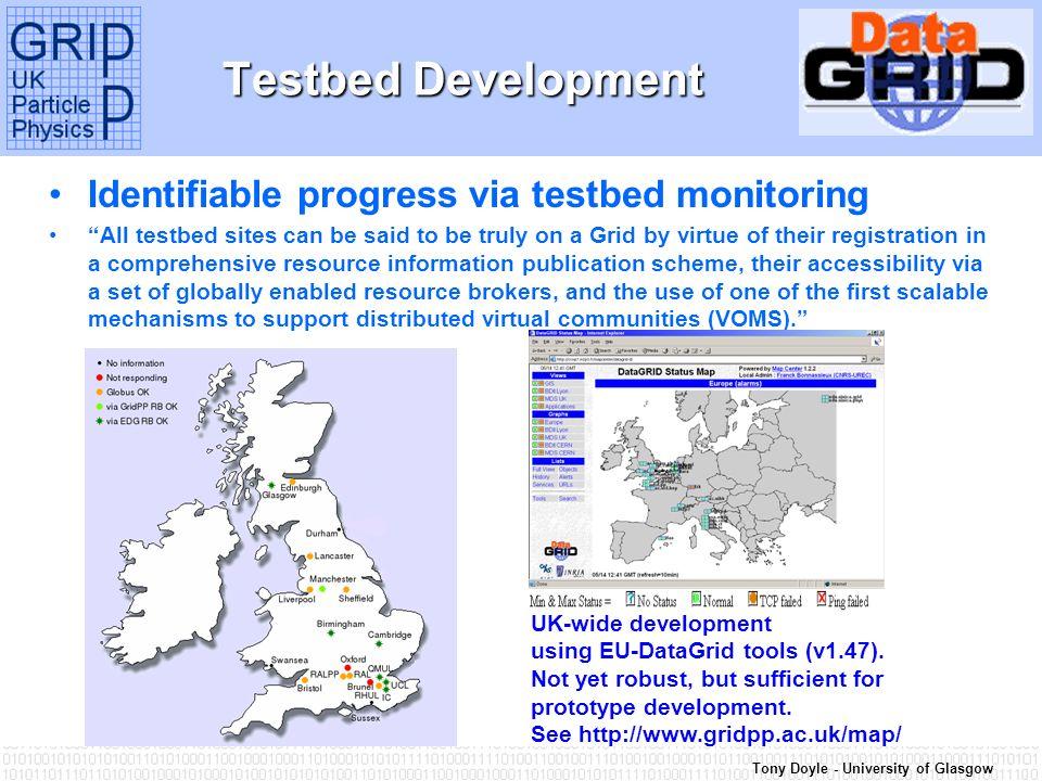 Tony Doyle - University of Glasgow Components: GridPP2 Proposal