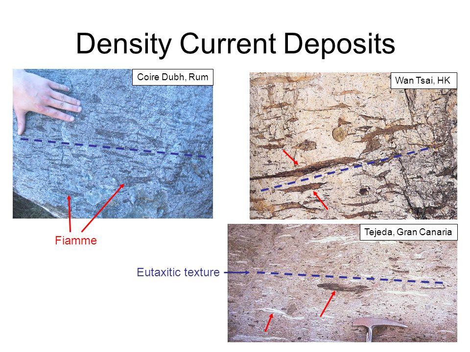 Density Current Deposits Fiamme Eutaxitic texture Coire Dubh, Rum Tejeda, Gran Canaria Wan Tsai, HK