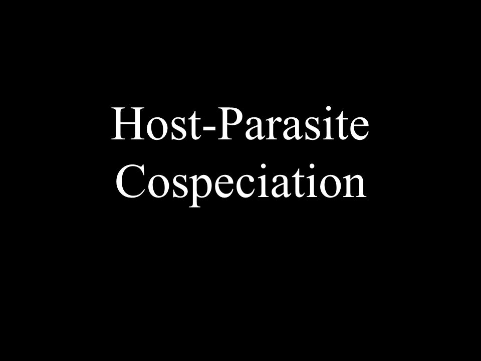 Host-Parasite Cospeciation