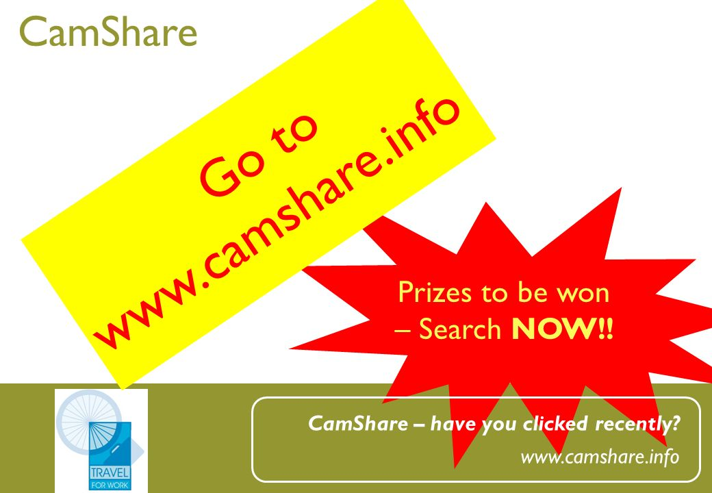 CamShare Prizes to be won – Search NOW!. CamShare – have you clicked recently.