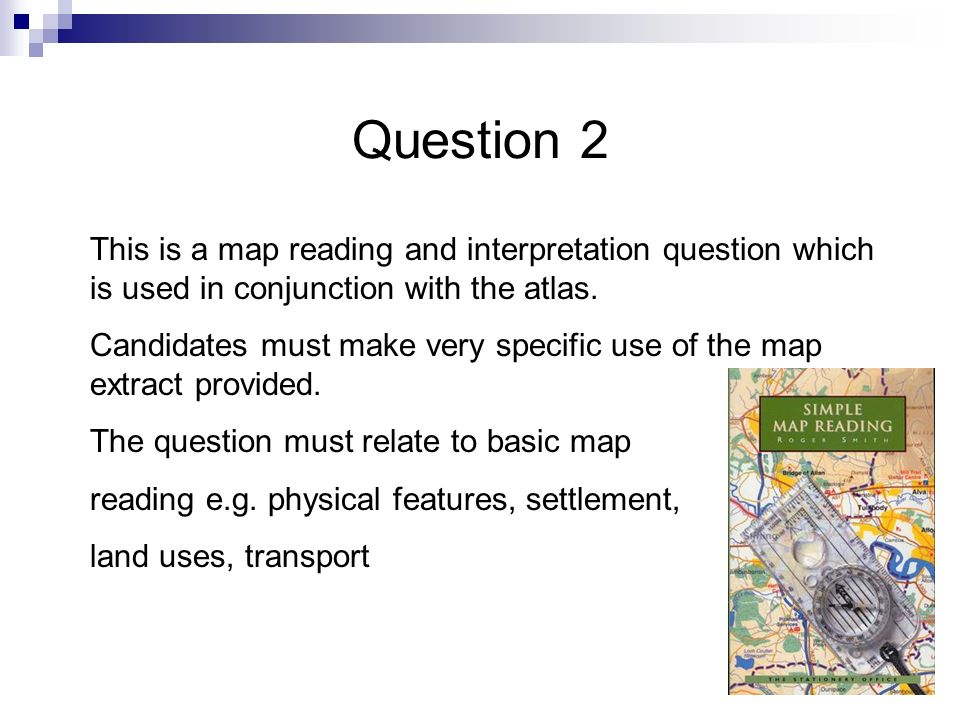 Location of maps for Q 1 and 2 2001 Westbury 2002 Ilkley 2003 Alnwick 2004 Rutland Water 2005 Lyme Regis 2006 Church Stretton 2007 Witney 2008 Quantoc