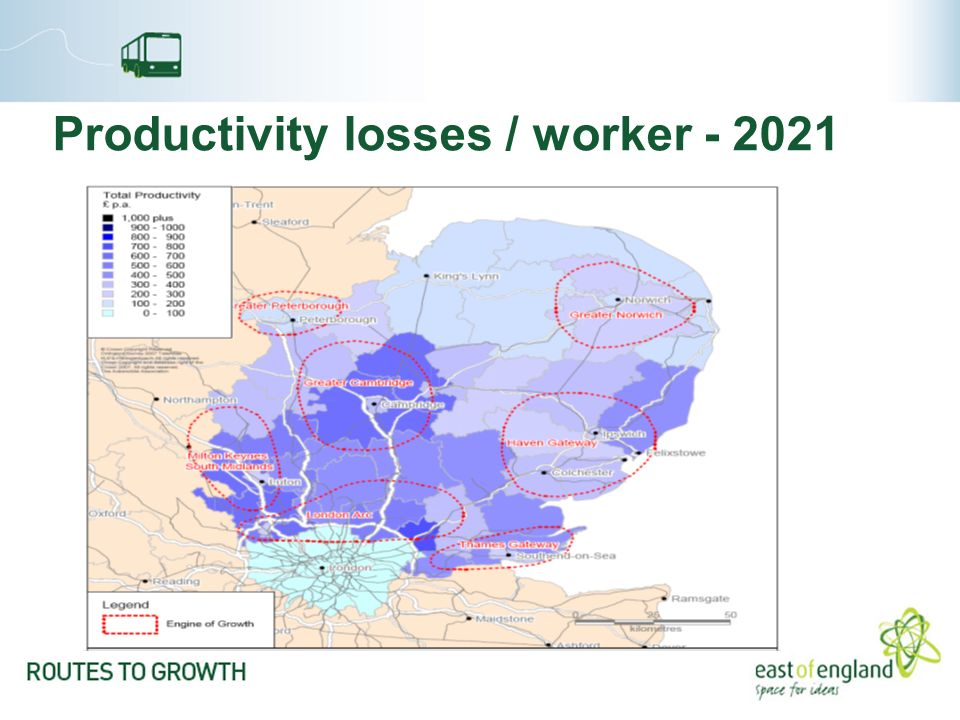 Productivity losses / worker - 2021