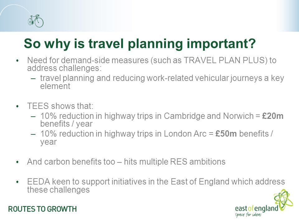 So why is travel planning important.