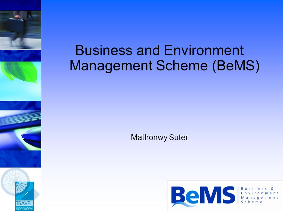 Issues facing SMEs Lack of knowledge, skills and time Changing legislation Increasing business overheads Economic tools by government to reduce pollution and improve resource efficiency Pressure from customers Resource consumption Pollution of air, land and water Consultants too expensive