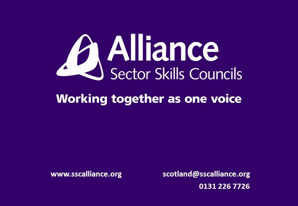 www.sscalliance.org scotland@sscalliance.org 0131 226 7726