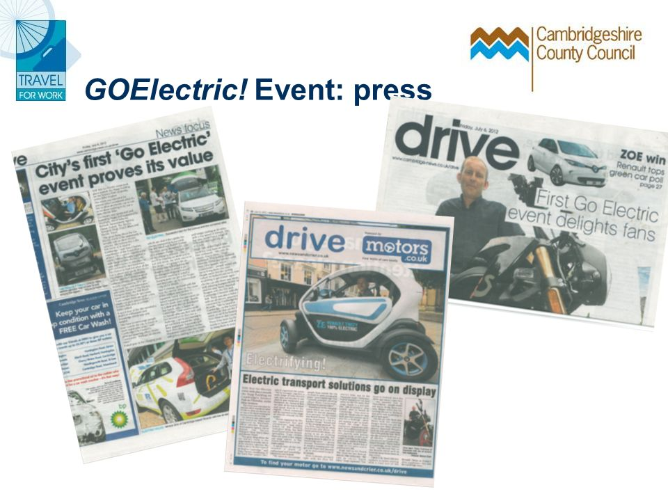 GOElectric! Event: press
