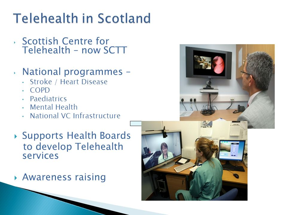 Donna Henderson Service Development Manager Scottish Centre for Telehealth and Telecare Donna@antaraconsulting.co.uk