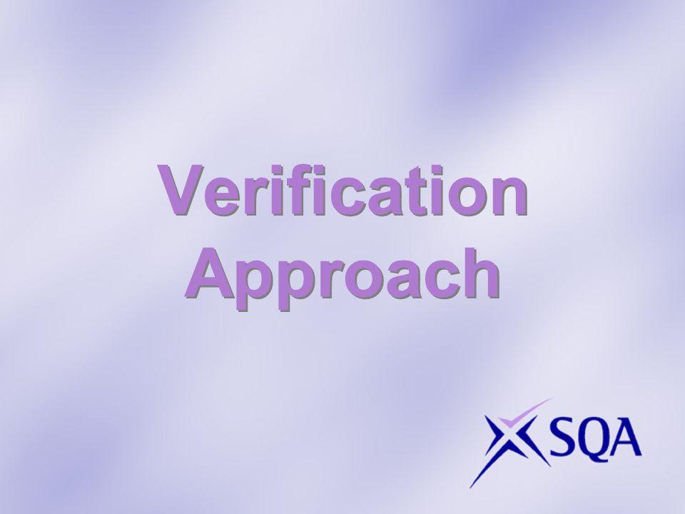 Verification Approach