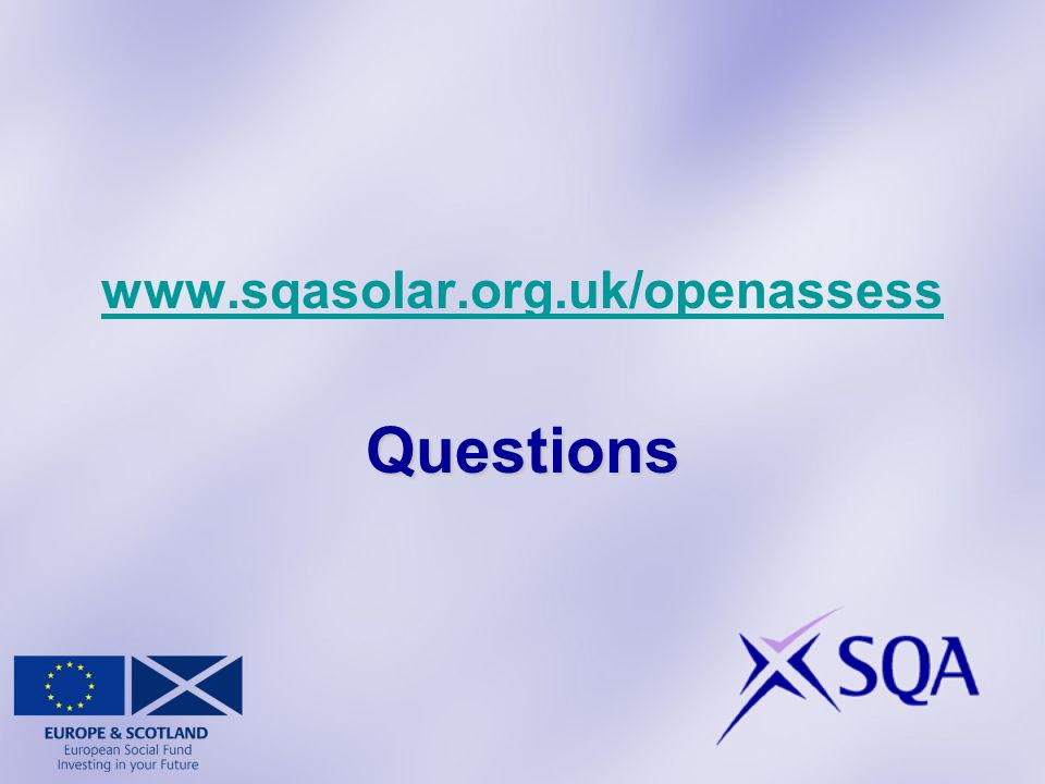 www.sqasolar.org.uk/openassessQuestions