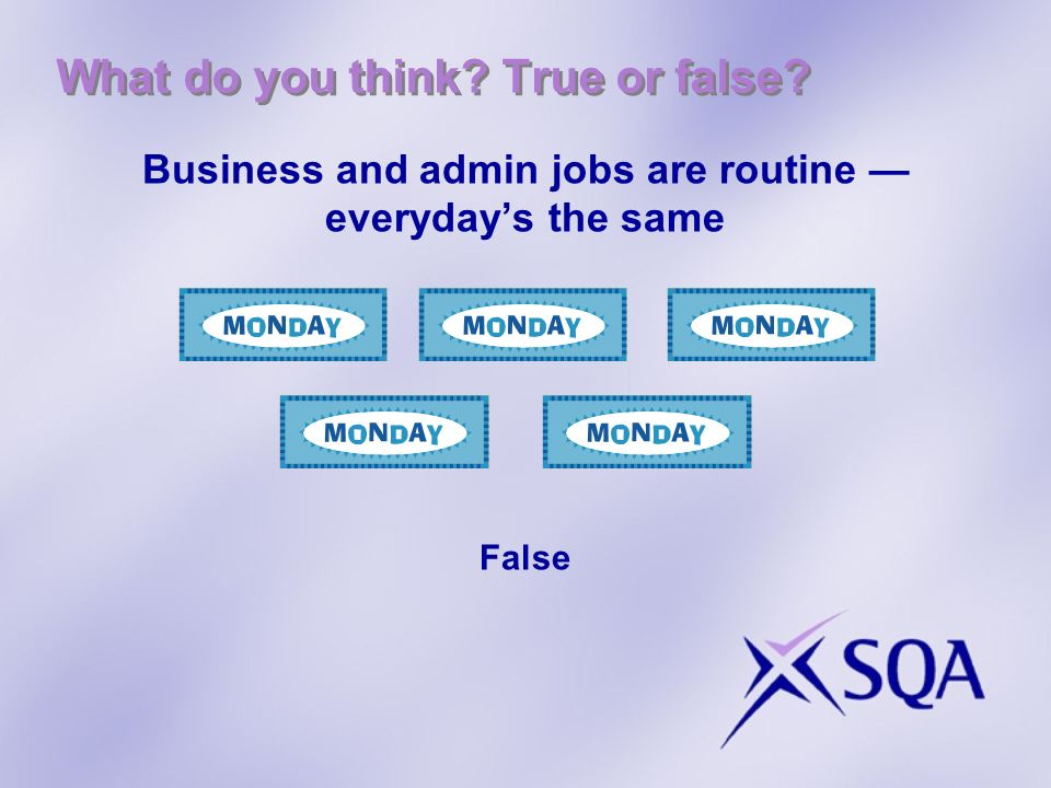 Question: What are Business and Administration skills? Can you think of any examples?