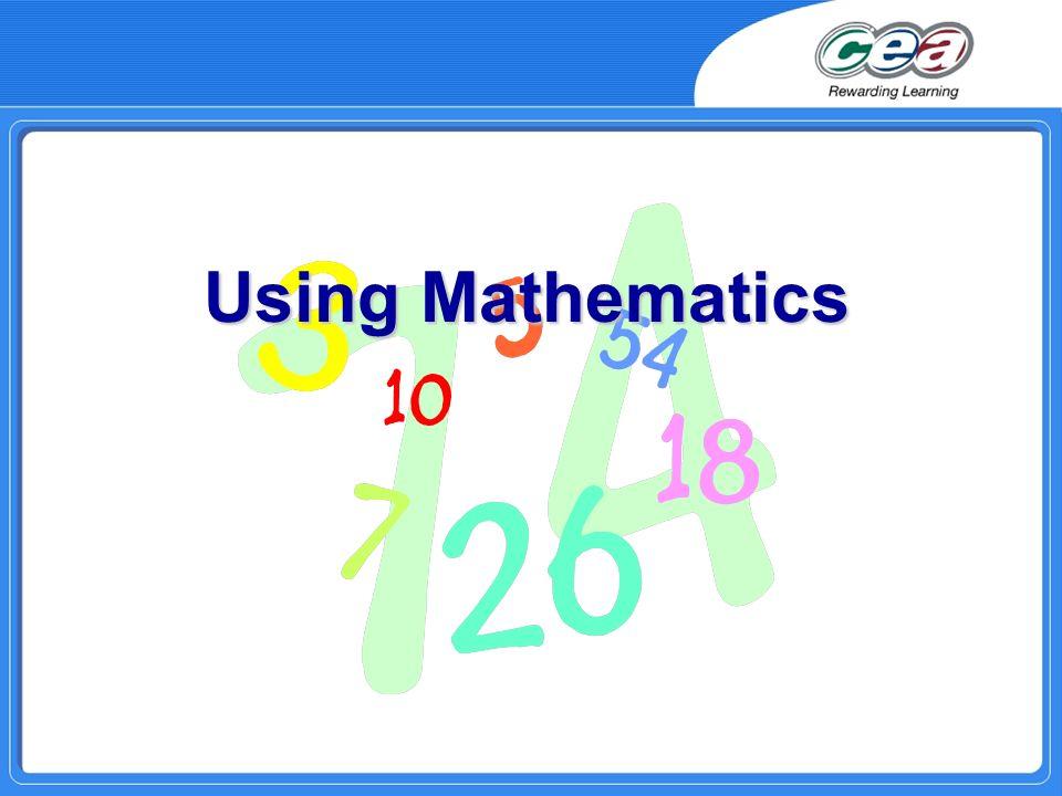 Using Mathematics