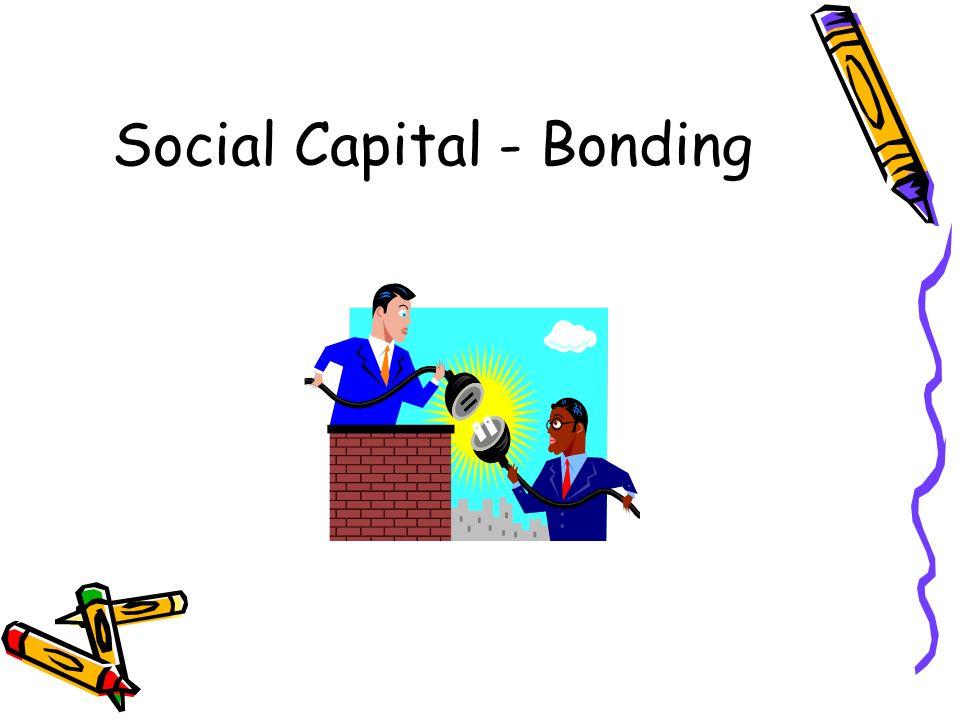 Social Capital - Bonding