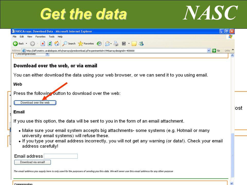 NASC Get the data