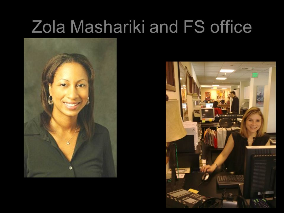 Zola Mashariki and FS office