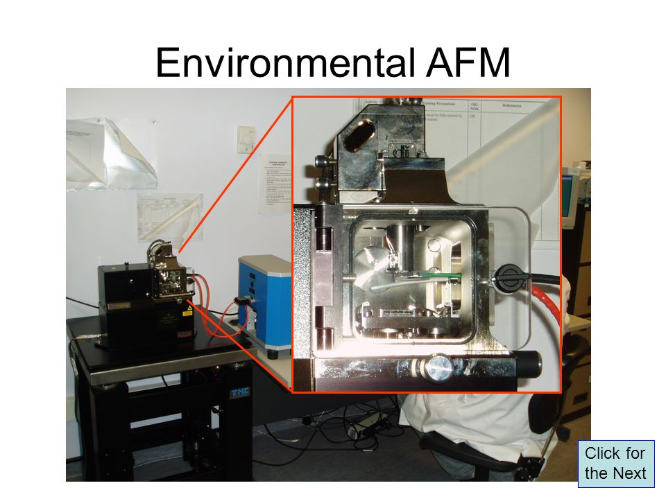 Environmental AFM Click for the Next