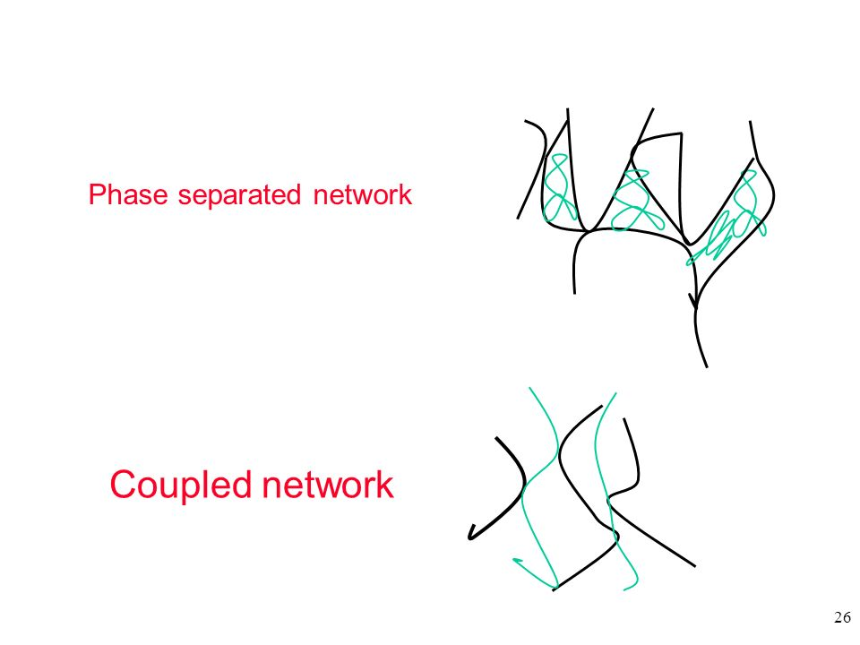 26 Coupled network Phase separated network
