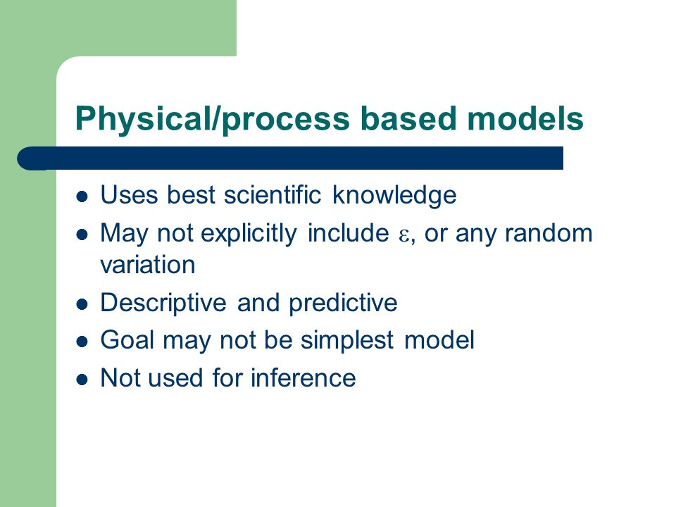 Example 3: how well should models agree.