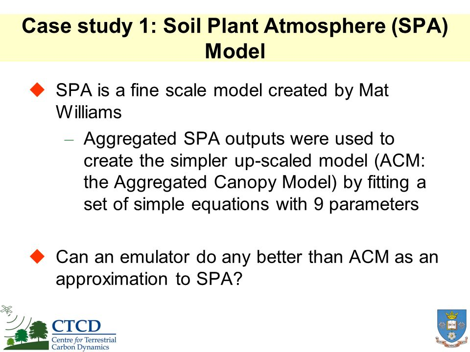 Main Effects: Soil inputs Soil inputs had been fixed in SDGVM Output sensitive to sand content, but not clay content, over these ranges More detailed soil input data are now used
