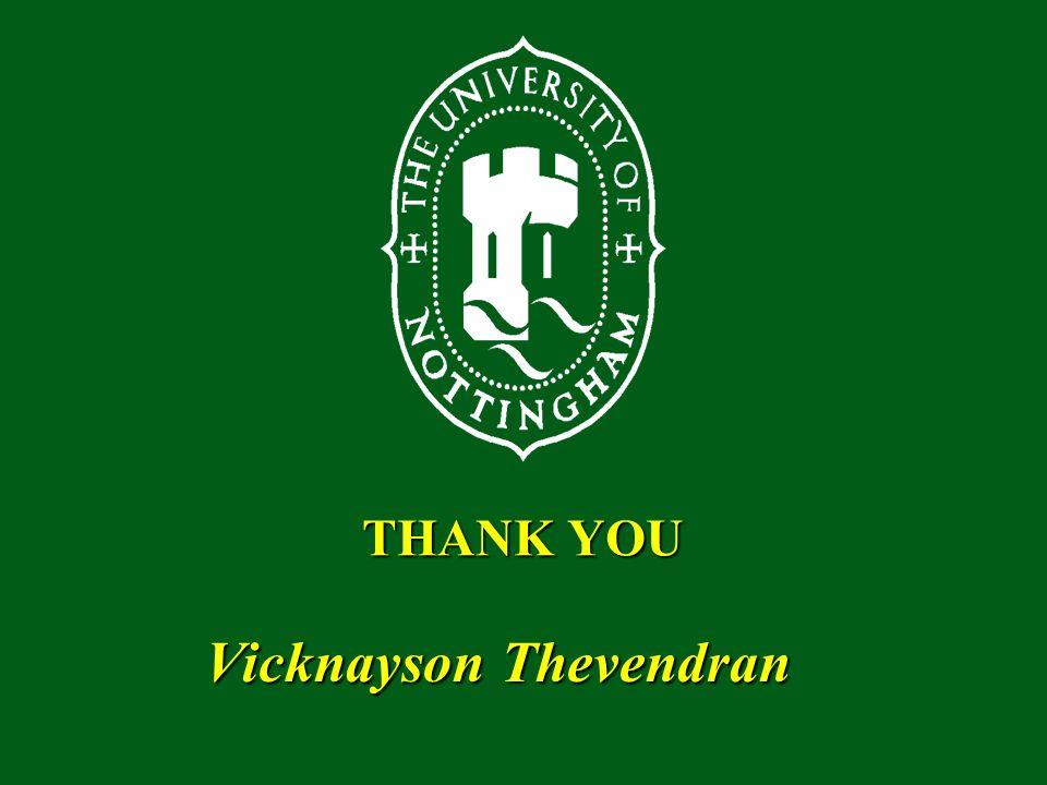 THANK YOU Vicknayson Thevendran