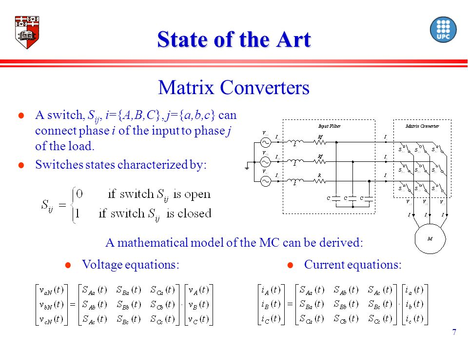 18 Conclusions l Advantages of Matrix Converters over the traditional VSI has been combined with the advantages of the DTC scheme.