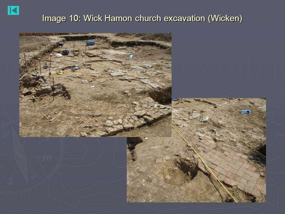 Image 10: Wick Hamon church excavation (Wicken)