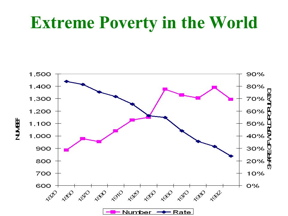 Extreme Poverty in the World