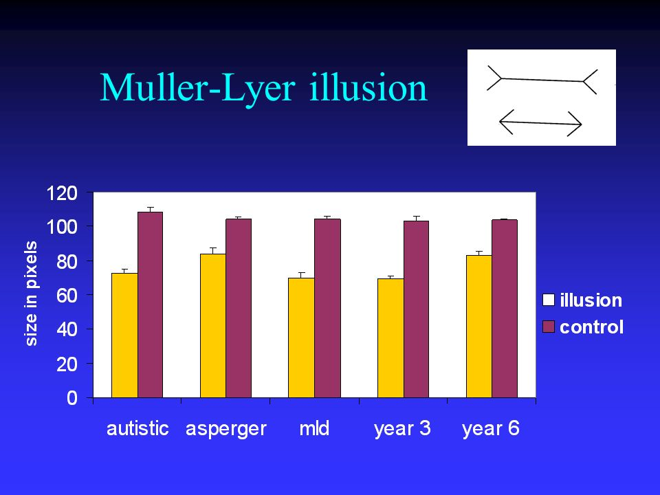 Muller-Lyer illusion