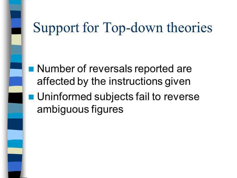 Instructions affect perception (Seth & Reddy,1979; Liebert & Burk, 1985)